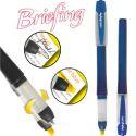 Bic Briefing 2 in 1 - blau/gelb