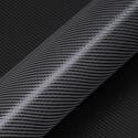 Carbon Strukturfolie HX3 schwarz