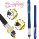 Bic Briefing  2 in 1 - blue/yellow