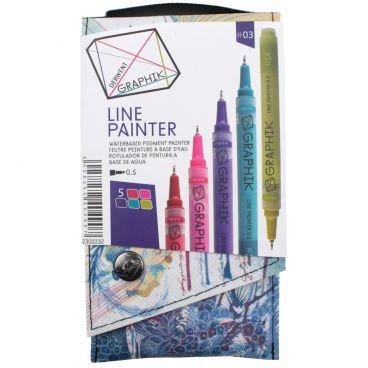 Derwent Graphik Line Painter 5er Set #3