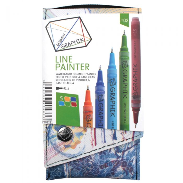 Derwent Graphik Line Painter 5er Set #2