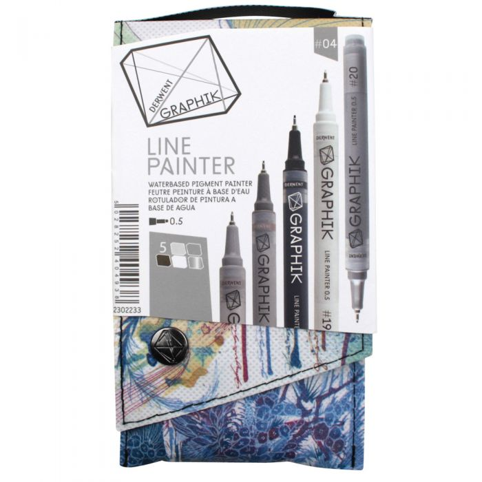 Derwent Graphik Line Painter 5er Set #4